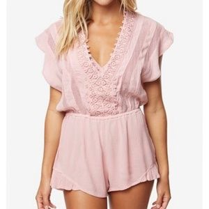 O'Neill Shay Swim Cover Up Romper sz Small